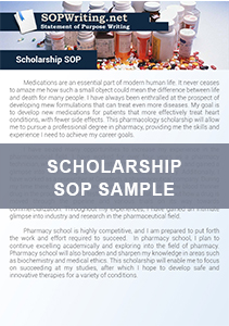 Scholarship Statement of Purpose Example